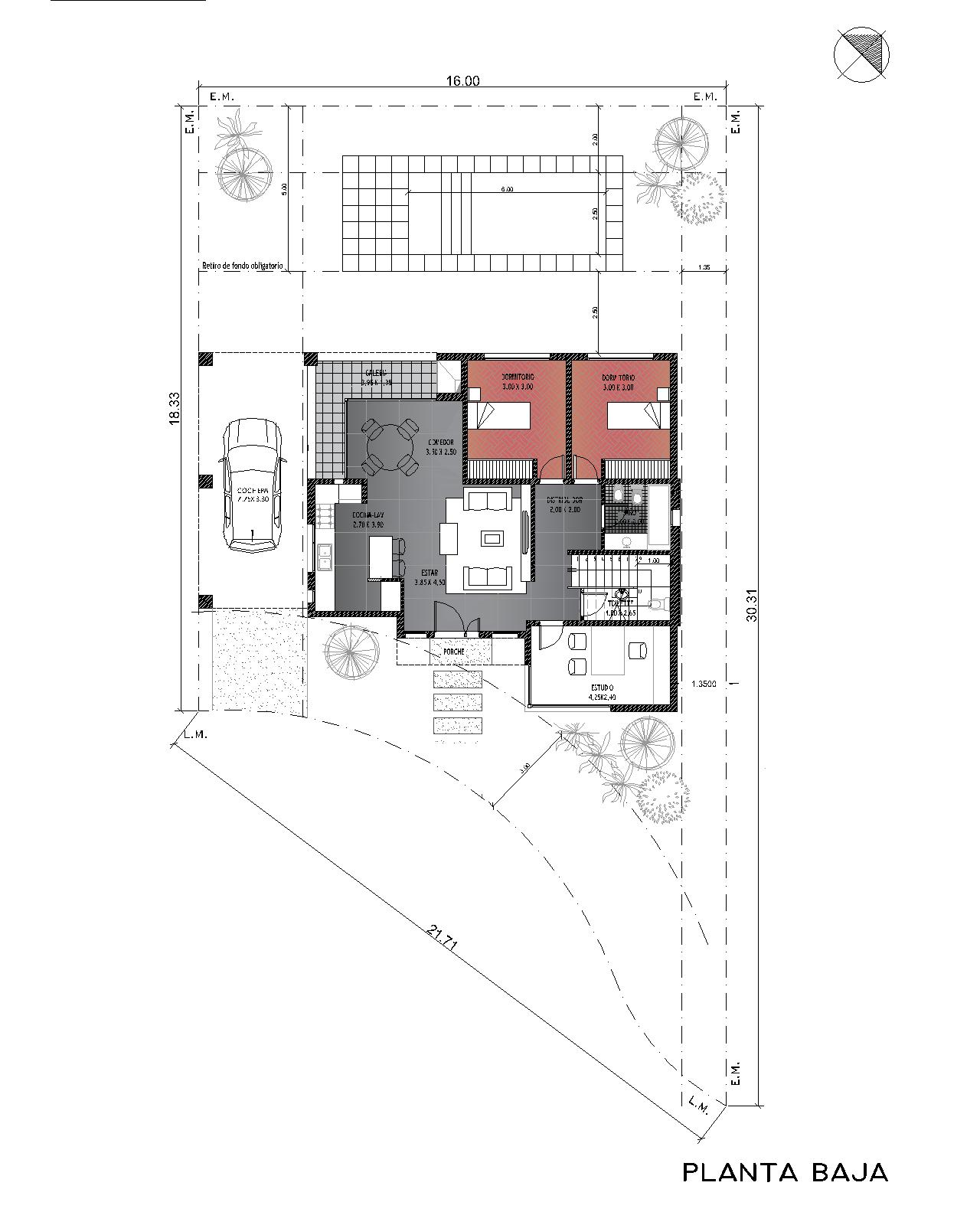 1.Baja Brisas de Adrogue-Lote 46-planta baja