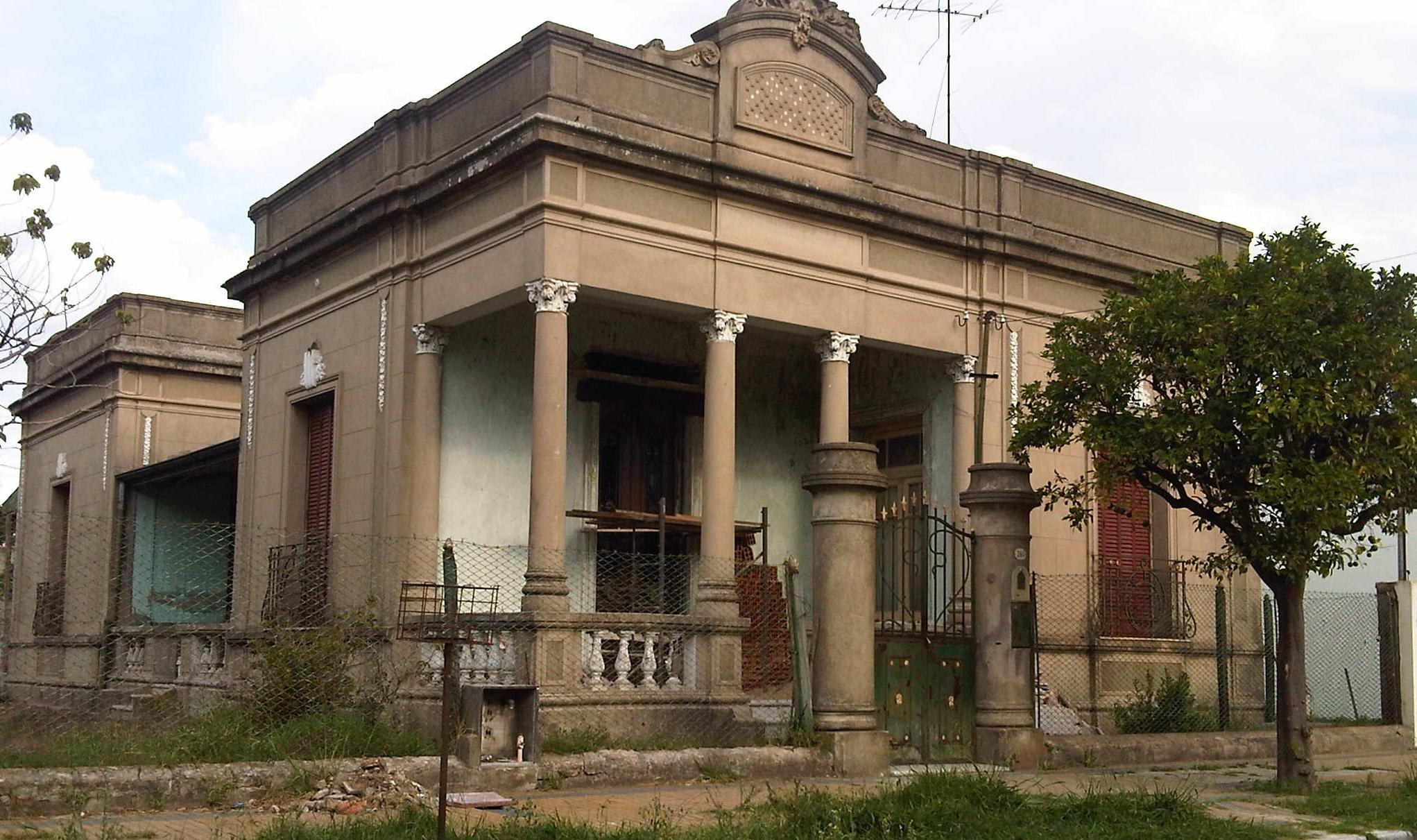 Casa Zapiola Antes 1